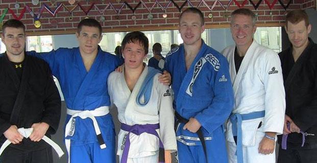 Mathieu Dubois Purple Belt